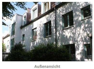 1-Zimmer-Gartenwohnung, Nähe Fuggerei in Augsburg-Innenstadt