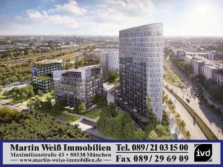 Luxuriöse 3-Zimmer-Wohnung mit Balkon Nähe Bavaria Towers in Bogenhausen (München)