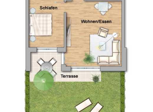 NEU 2-Zimmer im Betreuten Wohnen