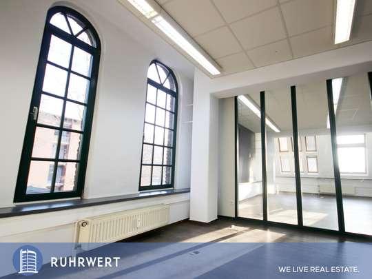 1. OG von Business-Loft: Industrieller Charme trifft Moderne // Loft-Büro in DU-Homberg!