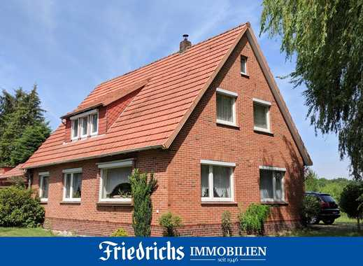 Einfamilienhaus auf großz. Gartengrundstück m. zusätzl. Baumschulfläche in Edewecht / nahe Oldenburg