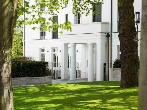 Schöner Wohnen - Repräsentative Gartenwohnung mit sonniger ...