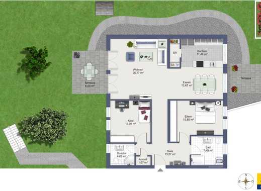 Neuwertige 3-Zimmer-Eigentumswohnung, sofort bezugsfertig