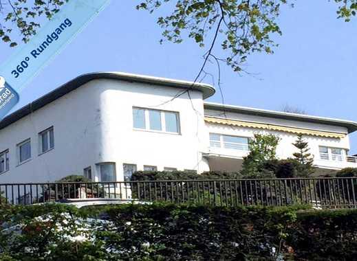 Hier finden Sie etwas Besonderes! Außerordentlich schöne, weiße Bauhaus-Villa in Wuppertal-Barmen