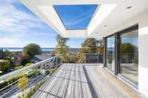 Modernes Penthouse mit Dachterrasse und