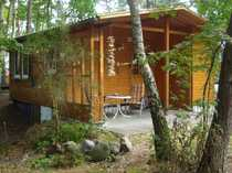 Schönes Wochenendhaus mit zwei Zimmern