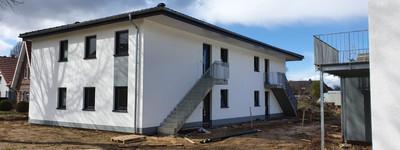 Neubauwohnung-Erstbezug im OG - 3 Zimmer mit Balkon
