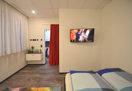 **5 Min zum Hauptbahnhof, neues möbliertes Apartment, vollausgestattet - direkt in der Innenstadt** in Stadtmitte (Aschaffenburg)