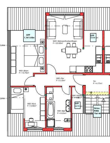 Erstbezug, stilvolle 3-Zimmer-Wohnung mit EBK in Steinbühl (Nürnberg)