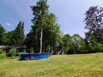 Idyllisches Freizeitgrundstück mit Ferienhaus im