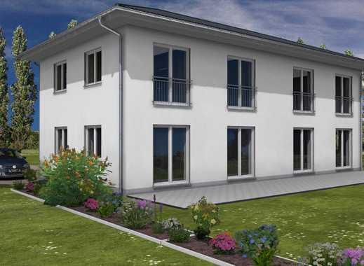 Doppelhaushälfte in Berlin Mahlsdorf mit schönem Grundstück.