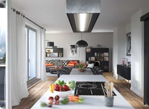 Heute und morgen darin wohlfühlen: Urbane 4-Zimmer- Wohnung mit gehobener Ausstattung und 2 Balkonen