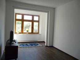 Wohnzimmer mit neuer Heizung