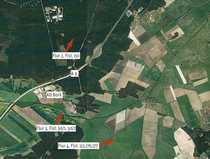 Ackerland und Wald- Grünlandflächen