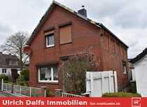 Freistehendes Einfamilienhaus mit Gestaltungspotenzial