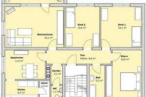 5 Zimmer Wohnung in Rhön-Grabfeld (Kreis)
