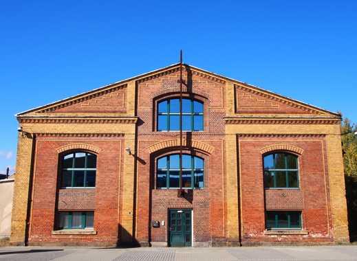 Vermietung Halle mit 12,5t-Kränen und Freiflächen für Produktion, Logistik, Lager