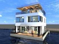 Bild Repräsentatives Floating House mit luxuriöser Ausstattung und viel Raum zur freien Entfaltung