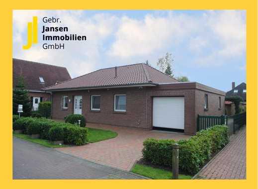 Walmdachbungalow mit schönem angelegten Garten in Barßel!