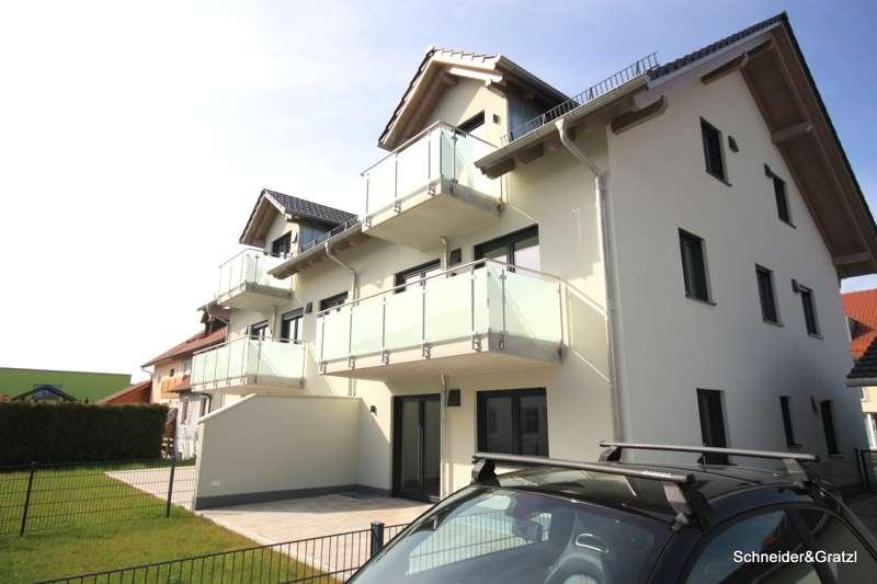 NEUBAU-ERSTBEZUG - attraktive geschnittene und großzügige 2-Zimmer-Wohnung mit jeglichem Komfort in