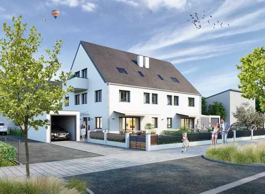Projektiertes Baugrundstück für ein Quattro-Haus