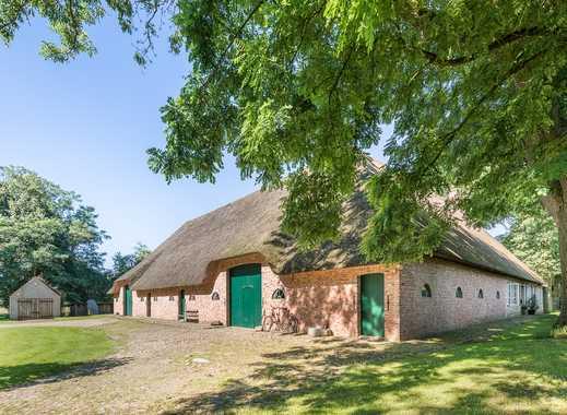 Liebevoll saniertes Landhaus unter Reet - ideal für Pferdehaltung