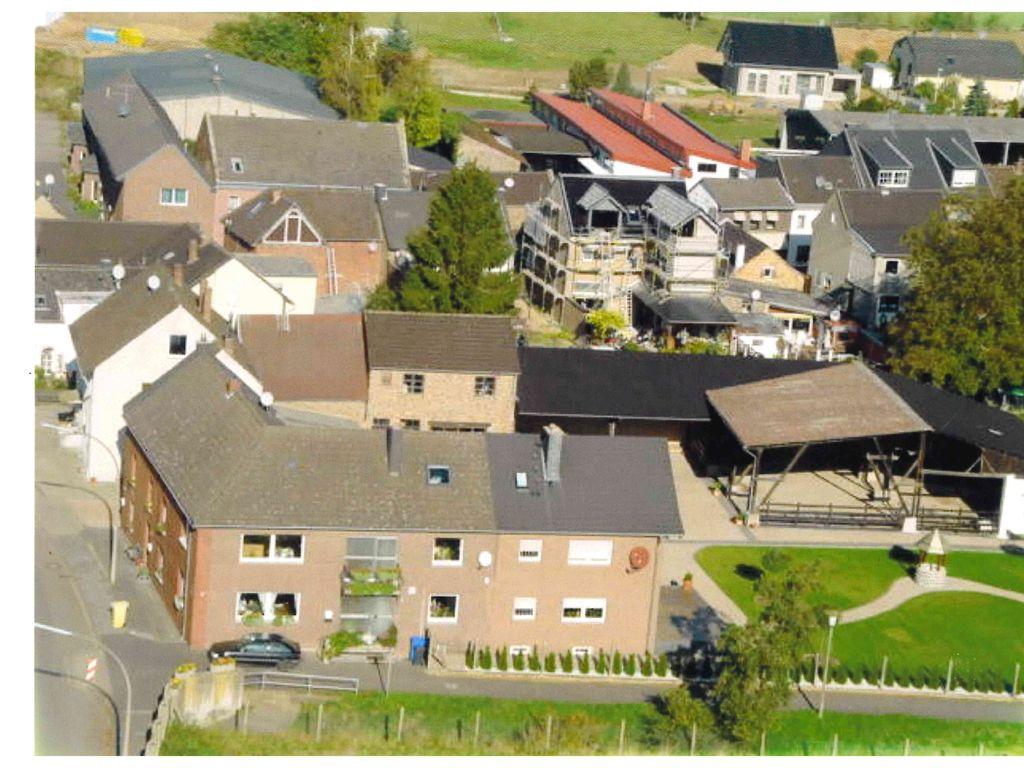 Luftbildaufnahme aus den frühe