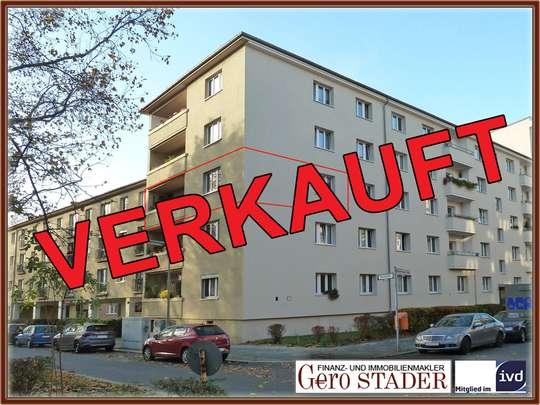 2-Zimmer-Wohnung nahe Innsbrucker Platz mit Südbalkon - Bild 1