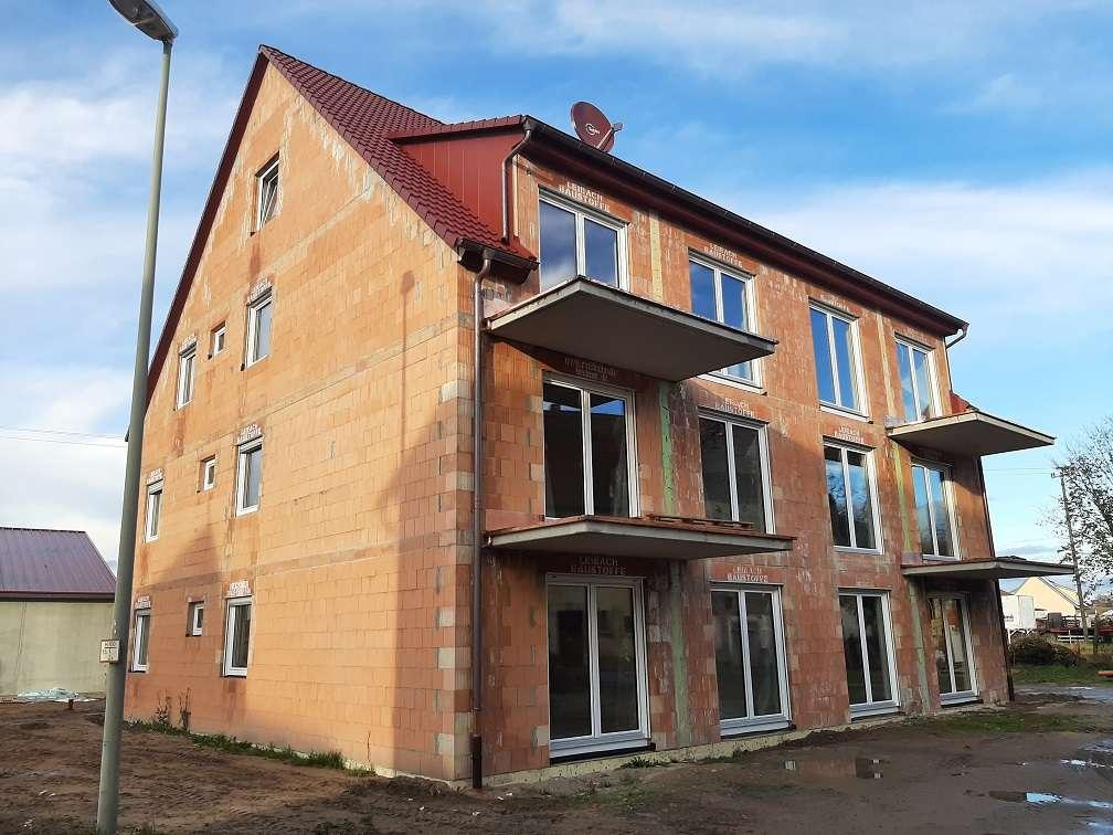 Neubau-Mehrfam.-haus Erstbezug: Fünf schöne 4-5 Zimmer-Wohnungen - ruhige, zentrale Lage z.vermieten in Mühlhausen (Erlangen-Höchstadt)