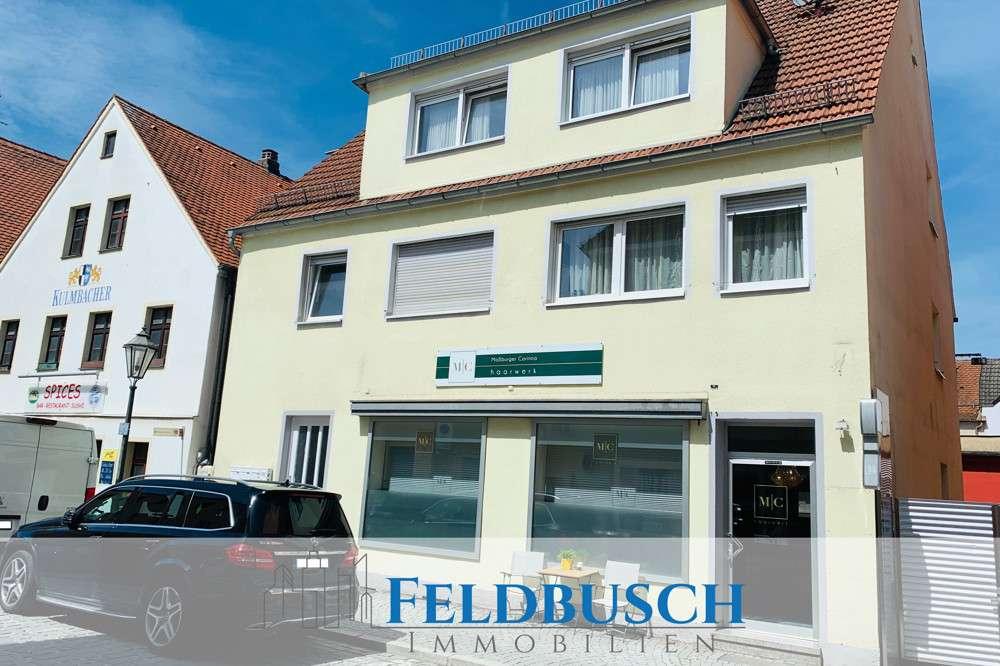 3-Zimmer Wohnung mitten in der Altstadt zur Miete in Neumarkt in der Oberpfalz (Neumarkt in der Oberpfalz)
