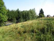 Weitläufiges Baugrundstück in Marienberg Stadt