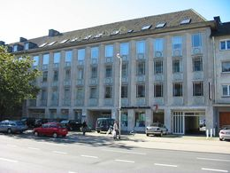 Das Büro/Praxisgebäude