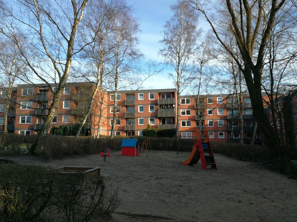 Außenansicht Spielplatz