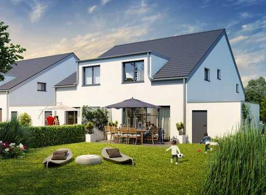 Exklusive Doppelhaushälfte mit rd. 158 m² Wohnfläche in Metzkausen