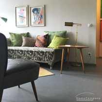 Moderne möblierte 2-Zimmer-Wohnung mit Balkon