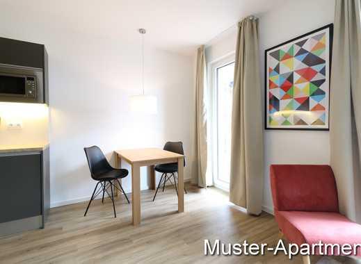 Typ Living mit Lage zum Innenhof - 1 Zi, 33 qm, EBK und Balkon
