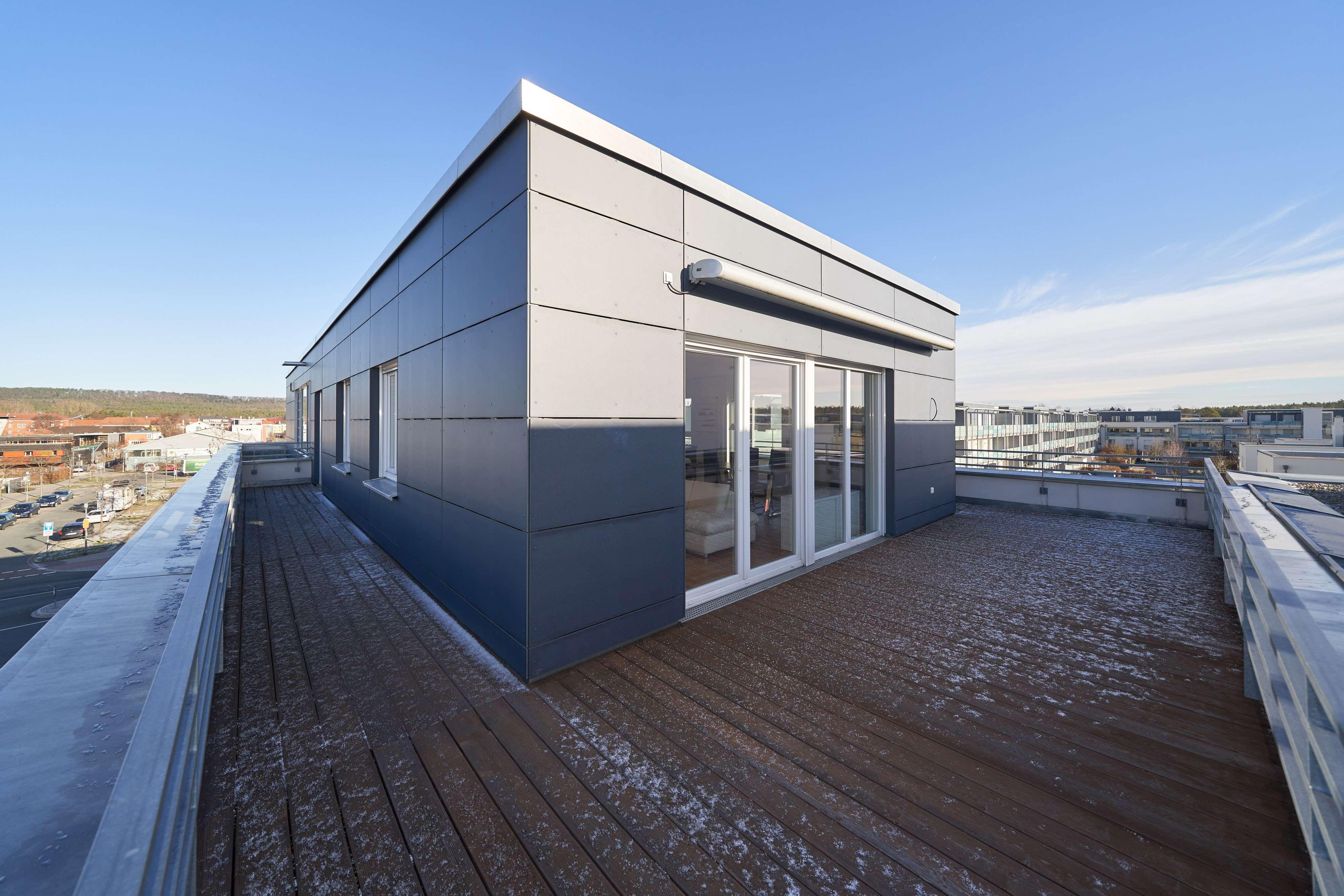 Röthelheimpark *** 3-Zimmer Penthauswohnung über den Dächern (moderne Einbauküche, TG) von Erlangen in Erlangen Süd (Erlangen)