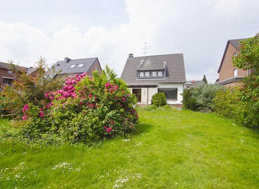 Neuss-Holzheim: Seltenheit, freistehendes 1-Fam.Hs. mit großem Garten, modernisierungsbedürftig