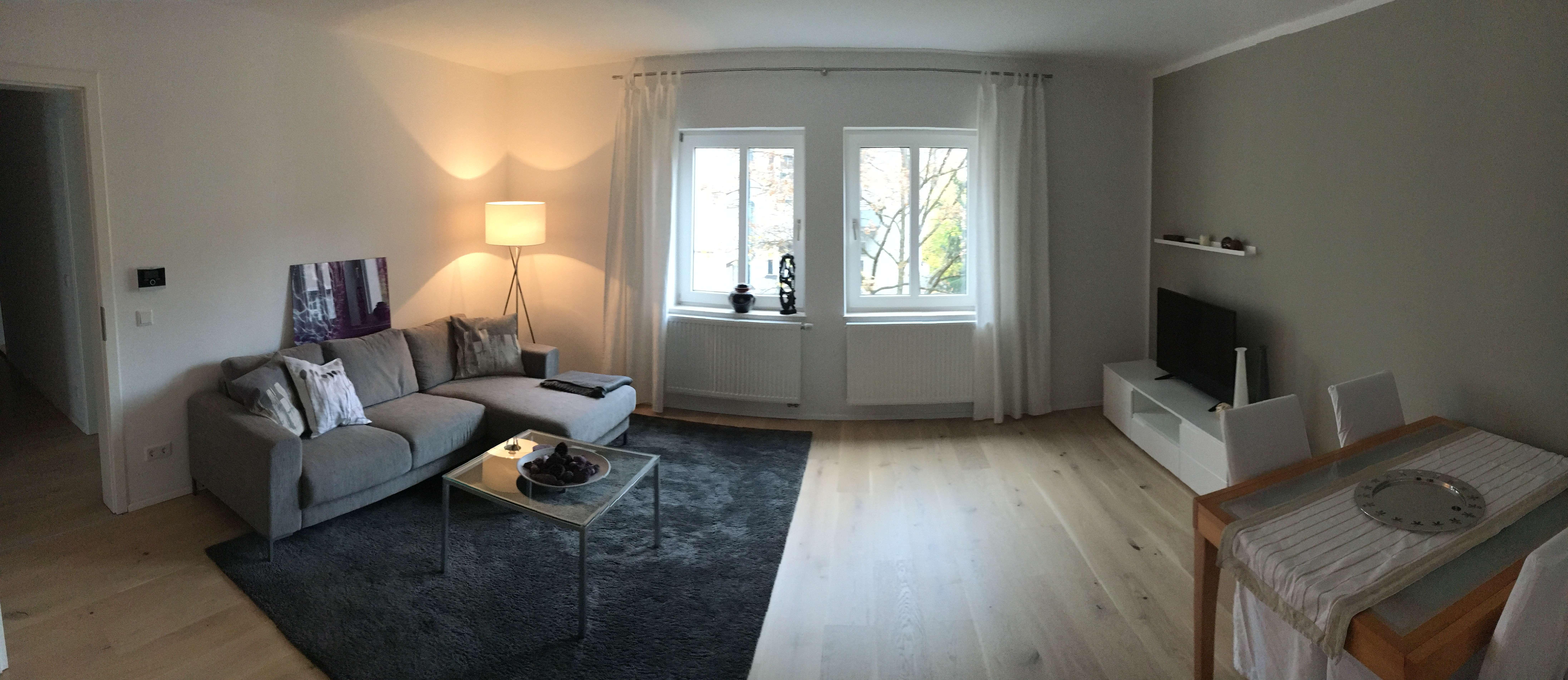 Sehr schöne möblierte 3-Zimmer Wohnung in München, Schwabing-West befristet zu vermieten in Schwabing-West (München)