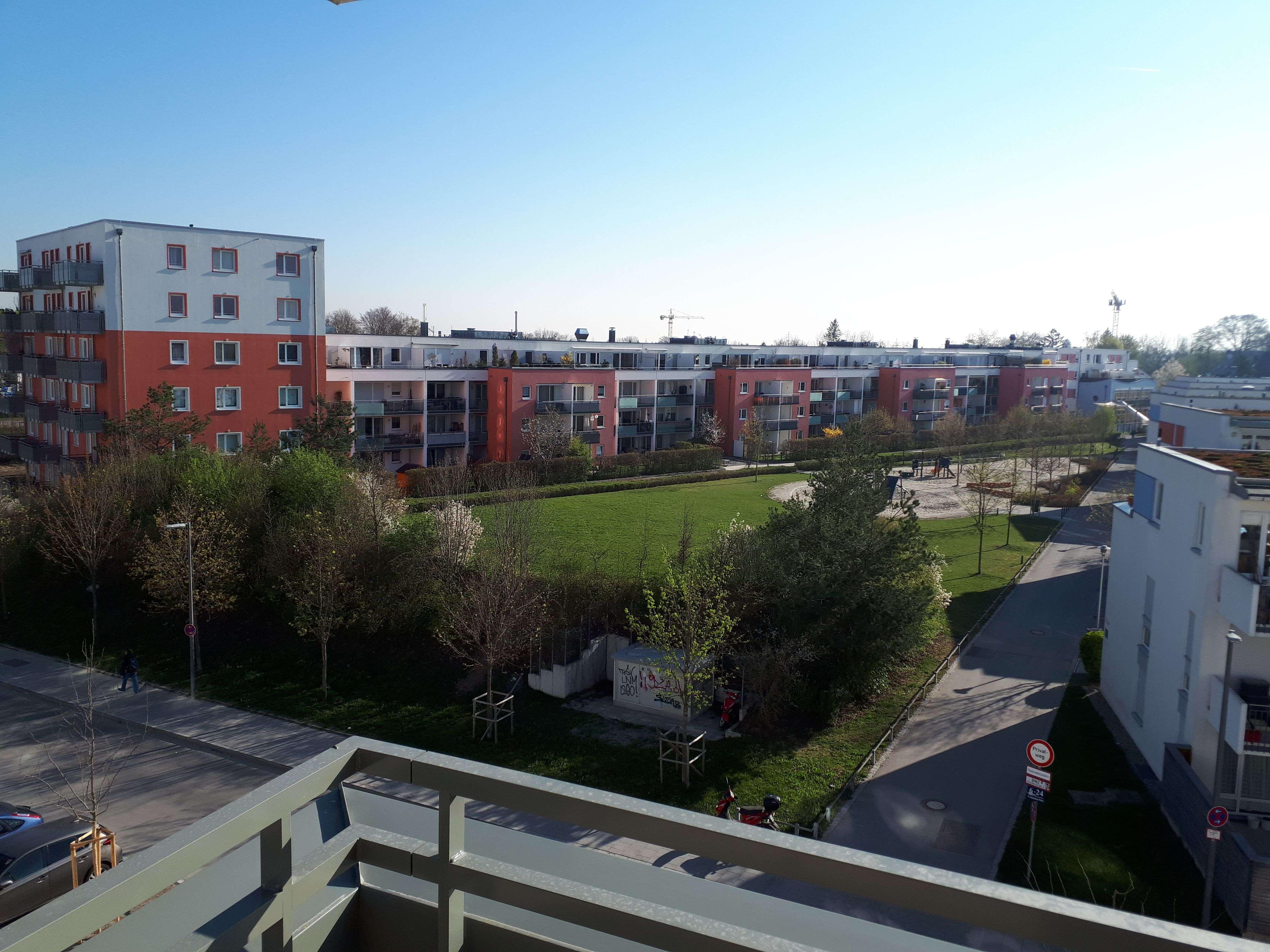 Erstbezug: 3-Zimmer-Wohnung mit Balkon in München-Aubing ohne EBK