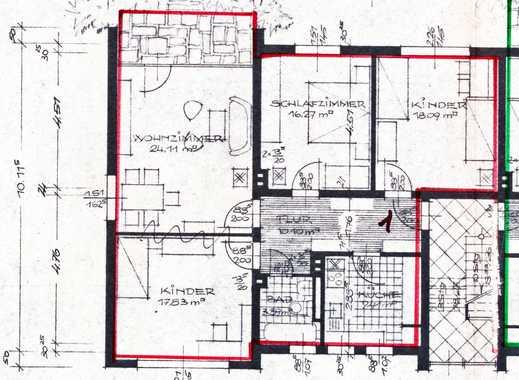 Schöne, geräumige drei Zimmer Wohnung in Hannover, Misburg-Nord