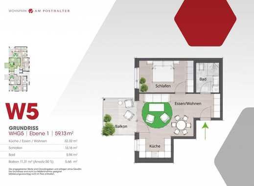WOHNPARK AM POSTHALTER (Haus 2) -Wohnung 5