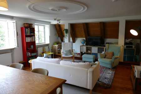 Altbau 4-Zimmer-Maisonette-Wohnung mit Dach-Terrasse und EBK in Augsburg in Augsburg-Innenstadt