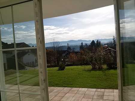 Traumhafte 3 Zimmer-Wohnung mit großem Garten und herrlichem Bergblick in Oberhausen (Weilheim-Schongau)