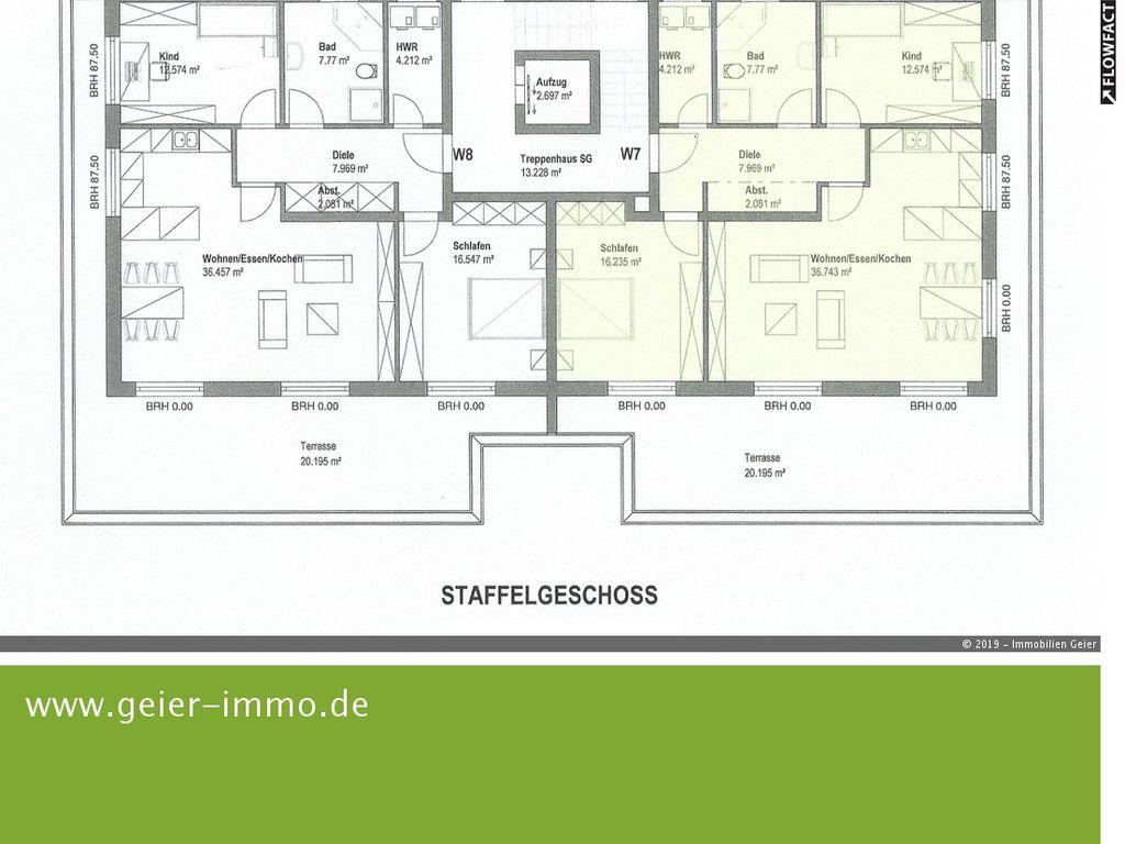 STAFFELGESCHOSS - WHG 7