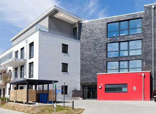 Assistiertes Wohnen! Moderne 2-Zi.-Erdgeschosswohnung auf ca. 96 m² mit offener Wohnküche