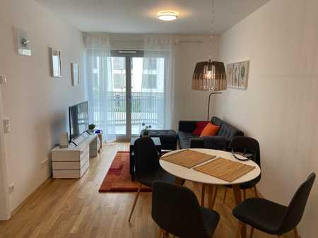 Modern möblierte 2-Zimmer-Wohnung / Neubau-Erstbezug !!! in Perlach (München)