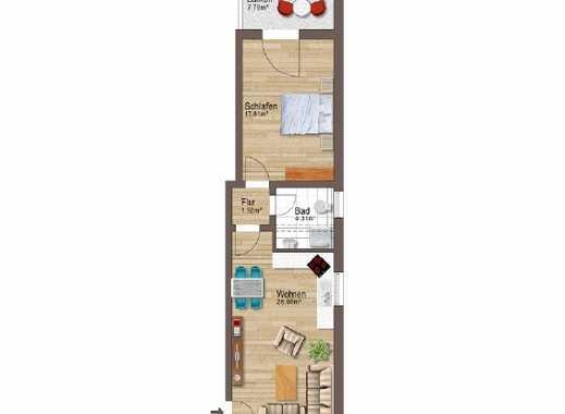 Großzügige 2-Zimmer-Wohnung