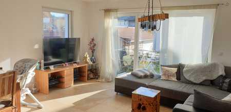 3,5-Zimmer-Wohnung mit Süd-Balkon im 1. OG und Dachgeschoß in Aying