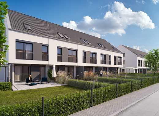 VERKAUFSSTART: 11 neue Reihenhäuser im Ortskern von Boxdorf - KfW 55